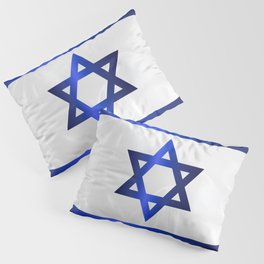 Israel Star Of David Flag Pillow Sham