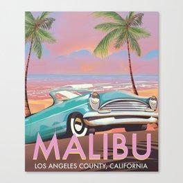 Malibu Los Angeles California Canvas Print