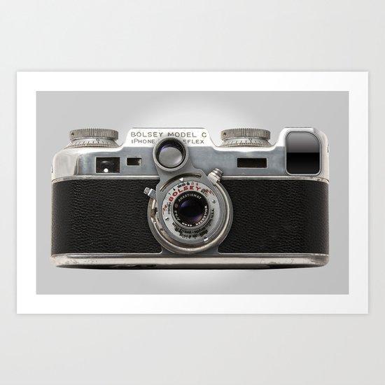Vintage Camera (iBolsey) Art Print