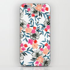 Tiny Floral iPhone & iPod Skin