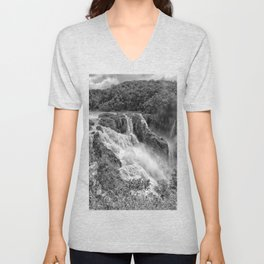 Stunning Barron Falls Unisex V-Neck