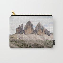 Mountain view Tre Cime di Lavaredo Italian Dolomites Carry-All Pouch
