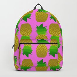 pineapple pattern Backpack