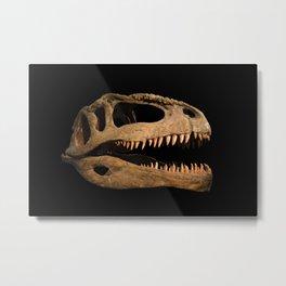 The skull of the dinosaur Metal Print