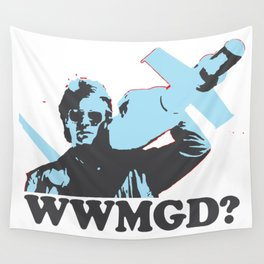 What would MacGyver Do? Wall Tapestry