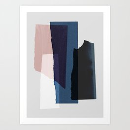 Pieces 3 Art Print
