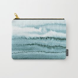 WITHIN THE TIDES - OCEAN TEAL Carry-All Pouch