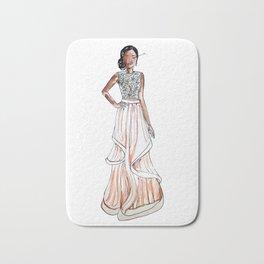 Prom Night (White Background) Bath Mat