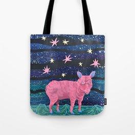 Spacepig Tote Bag