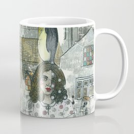 """A Woman in the Old Town"" Coffee Mug"