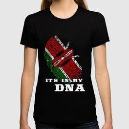 Kenya - ItS In My Dna T-shirt