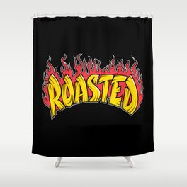 Roasted Shower Curtain