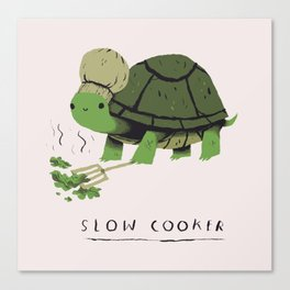 slow cooker Canvas Print