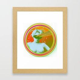 Lazer Framed Art Print