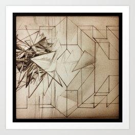 Existential Breakthrough Art Print