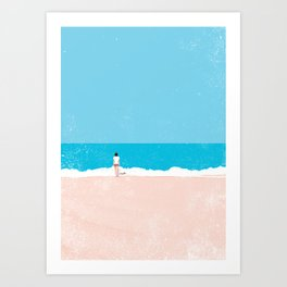 Beach 4 Art Print