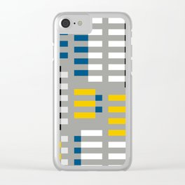 ALBERS TRIBUTE Clear iPhone Case