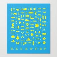sweden Canvas Prints featuring Sweden by Marcus Eriksson