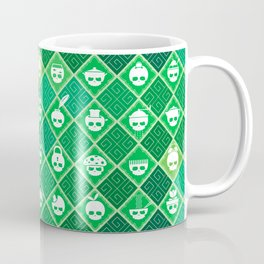 The Nik-Nak Bros. Veggie Greene Coffee Mug