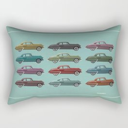Five Oldsmobiles Rectangular Pillow