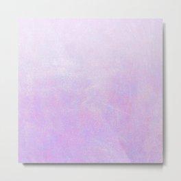 Lilac Ombre Metal Print
