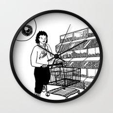 Surveillance Wall Clock