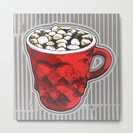Hot Cocoa  Metal Print