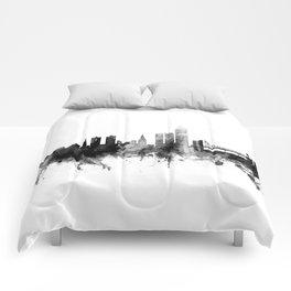 Oslo Norway Skyline Comforters