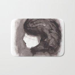 Girl ink 02 Bath Mat