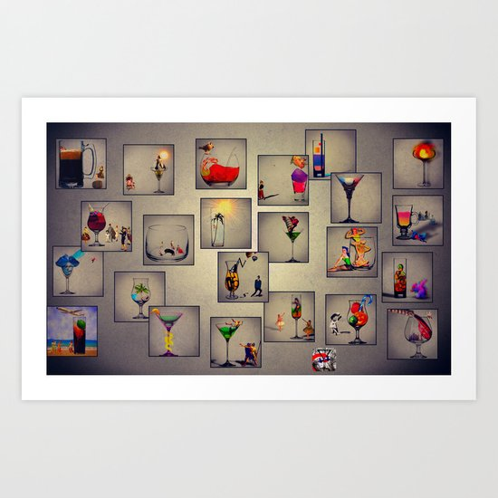 MixMotion: We're all here Art Print