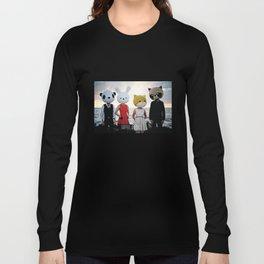 Dapper Animals Sunset Faces Long Sleeve T-shirt