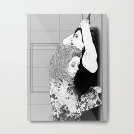 Orphan Black - Sarah/Helena S2 Shower Scene (Original Artwork Print) Metal Print