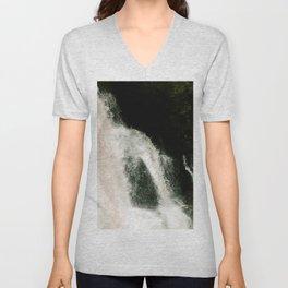 Waterfall Against the Black Unisex V-Neck