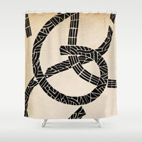 lovers Shower Curtains featuring - lovers - by Magdalla Del Fresto