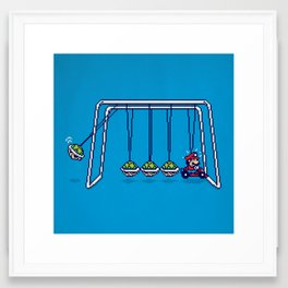 Mamma Mia! (pixel version) Framed Art Print