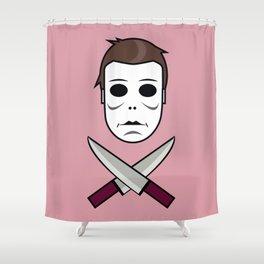 Myers Head Shower Curtain