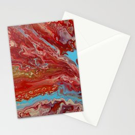 A River Runs Through Stationery Cards