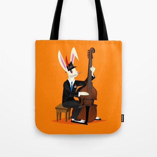 The Jazz Bunny Tote Bag