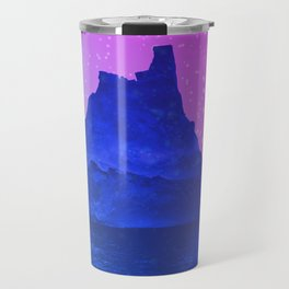 The Fortress of Ice Travel Mug
