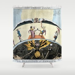 The Torrid Zone. Or, Blessings of Jamaica Shower Curtain