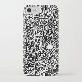 Cell Pattern iPhone Case