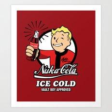 Nuka Cola Art Print