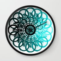 cycle Wall Clocks featuring Cycle by Advocate Designs