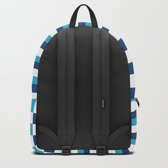 Blue summer stripes Backpack