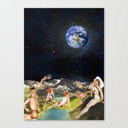 THE SECRET PLANET Canvas Print
