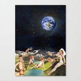 THE SECRET PLANET Canvas Print
