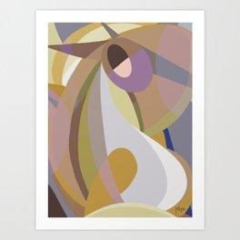 Shapes of Bob Art Print