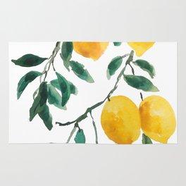 yellow lemon 2018 Rug