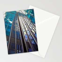 architecture skyscraper Stationery Cards
