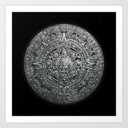 Aztec Cthulhu Art Print